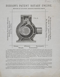Advert For Hodson's Rotary Engine